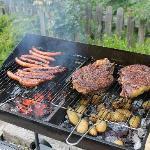 barbecue généreux
