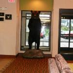 Lobby of Homewood Suites Anchorage