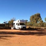 Our campsite.
