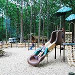 Let the kids enjoy the spacious playground