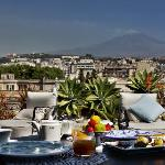Panoramic Restaurant with Etna view