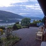 the view from one of our rooms facing the loch