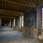Gallery with famous wall paintings