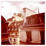 Der Blick auf Notre-Dame....