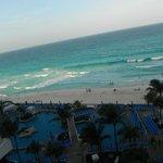 Vista de la playa desde habitacion