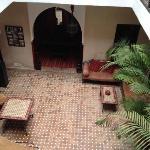 Dar Loula courtyard.
