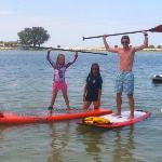 Our family SUPing