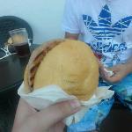 Pool side bar burger