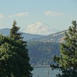 view from little deck, 2nd floor above office - Mt. Adams, Columbia River