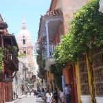 Caminando por Cartagena, Colombia