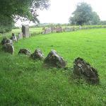 Grange stones - largest stone circle in Ireland