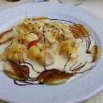 Tortellini mit Birnen und Walnussso?e - lecker!