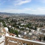 Great view of Granada from our room.