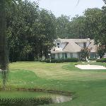 One view of the Sanctuary Golf Course Clubhouse