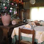 Ceru interior of restaurant