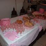 Buffet Aperitivi Notte Rosa
