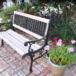 cute bench