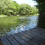 vue du canal sur le quai