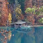 Lago no caminho do castelo de Hohenschwangau