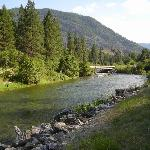 Thompson River is just 5 minutes from the motel...and the fishing? Fabulous.