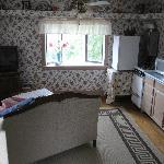 TV living area - upper coach room