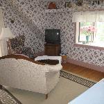main living area - upper coach room