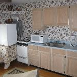 kitchen - upper coach room