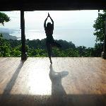 Yoga with a view to die for!
