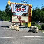 Route 104 Diner Friday Fish Fry