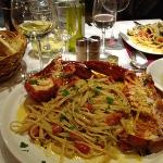 bellisima! lobster with pasta!!!!