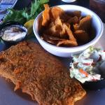 Haddock basket - good sized portion - tasty - house made fries
