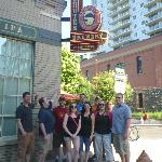 Our group in front of Deschutes!!!