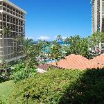 View from our partial ocean view room .. Tapa Tower Room 429