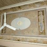 El techo con pinturas lindas