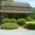 Birch Cabin. where we stayed