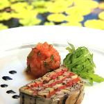 Lamb and eggplant terrine