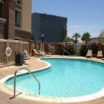 Pool side again