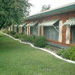 Motel garden