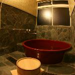 信楽焼の貸し切り風呂(予約制*¥300/1時間**電話やメール、チェックイン時でもOK)The Japanese private bath(need a reservation in adva