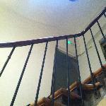 Accès escalier