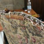 Frayed upholstery