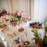 Lolly table at reception