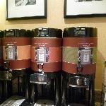 Kaffeeauswahl