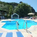 Camping D'Argento pool area