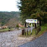 Entrada da aldeia