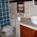 Garden bungalow - Bathroom