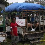 Fanning Island tour coach