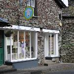 Outside the herdy shop