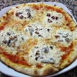 Pizza Carbonara
