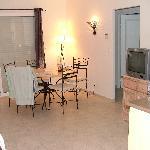 Salle à manger + salon (villa)